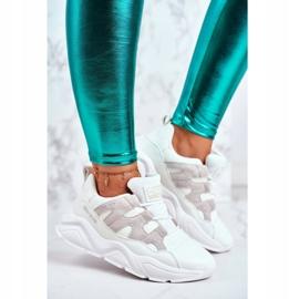 Damskie Sportowe Buty Big Star Białe GG274635 1