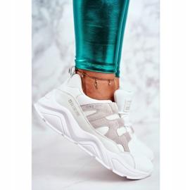 Damskie Sportowe Buty Big Star Białe GG274635 3