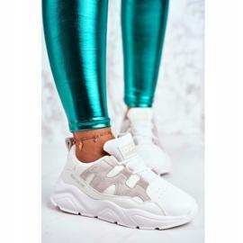 Damskie Sportowe Buty Big Star Białe GG274635 2