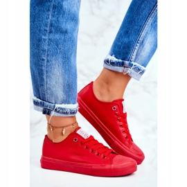 Damskie Trampki Cross Jeans Czerwone DD2R4032 3