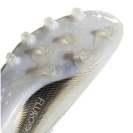 Buty piłkarskie adidas X Ghosted.1 Ag M EG8154 białe czarny, biały, złoty 1