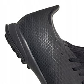 Buty piłkarskie adidas X Ghosted.3 Tf M EH2835 czarne czarne 2