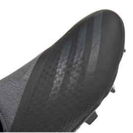 Buty piłkarskie adidas X Ghosted.3 Ll Fg M FW3541 czarne czarne 2