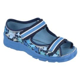 Befado obuwie dziecięce  969X151 granatowe niebieskie 1
