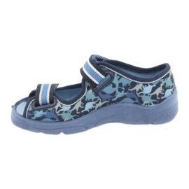 Befado obuwie dziecięce  969X151 granatowe niebieskie 2