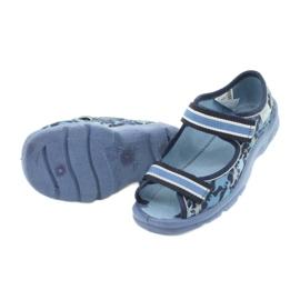 Befado obuwie dziecięce  969X151 granatowe niebieskie 4