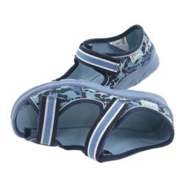 Befado obuwie dziecięce  969X151 granatowe niebieskie 5