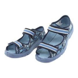 Befado obuwie dziecięce  969X151 granatowe niebieskie 3
