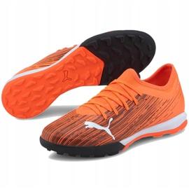 Buty piłkarskie Puma Ultra 3.1 Tt M 106089 01 pomarańczowe wielokolorowe 1