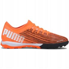 Buty piłkarskie Puma Ultra 3.1 Tt M 106089 01 pomarańczowe wielokolorowe 2