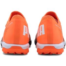 Buty piłkarskie Puma Ultra 3.1 Tt M 106089 01 pomarańczowe wielokolorowe 3