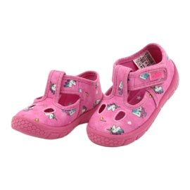 Befado  obuwie dziecięce 533P010 różowe 3
