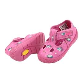 Befado  obuwie dziecięce 533P010 różowe 4