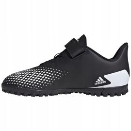Buty piłkarskie adidas Predator 20.4 H&L Tf Jr FW9225 czarne białe 2