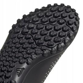 Buty piłkarskie adidas Predator 20.4 H&L Tf Jr FW9225 czarne białe 5
