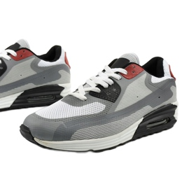 Szare męskie obuwie sportowe 1503 1