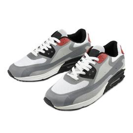 Szare męskie obuwie sportowe 1503 2