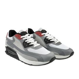 Szare męskie obuwie sportowe 1503 3