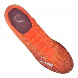 Buty piłkarskie Puma Ultra 1.1 Mg M 106078-01 pomarańczowe wielokolorowe 2