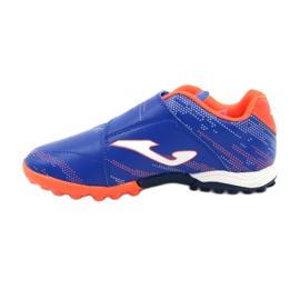 Buty piłkarskie Joma Champion 2004 Tf Jr CHAJS.2004.TF niebieskie 1