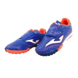 Buty piłkarskie Joma Champion 2004 Tf Jr CHAJS.2004.TF niebieskie 2