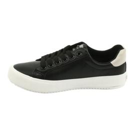 Buty trampki Lee Cooper W LCJL-20-31-071 beżowy czarne 1