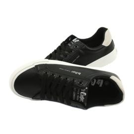 Buty trampki Lee Cooper W LCJL-20-31-071 beżowy czarne 4