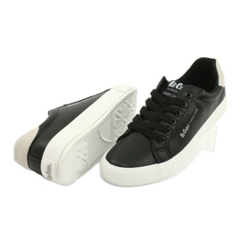 Buty trampki Lee Cooper W LCJL-20-31-071 beżowy czarne 3