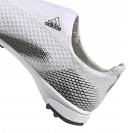 Buty piłkarskie adidas X Ghosted.3 Ll Tf M EG8158 szary/srebrny, biały, szary/srebrny białe 1