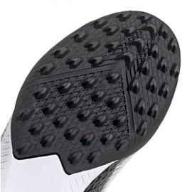 Buty piłkarskie adidas X Ghosted.3 Ll Tf M EG8158 szary/srebrny, biały, szary/srebrny białe 3