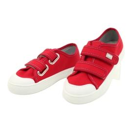 Befado obuwie dziecięce 440X012 czerwone 3