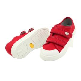 Befado obuwie dziecięce 440X012 czerwone 4