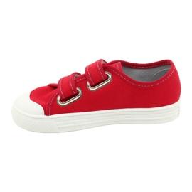Befado obuwie dziecięce 440X012 czerwone 2