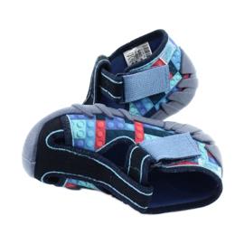 Befado obuwie dziecięce 190P095 czerwone granatowe niebieskie 5