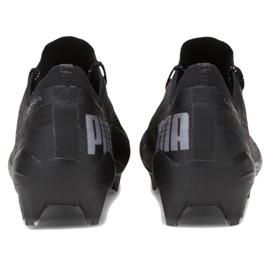 Buty piłkarskie Puma Ultra 1.1 Fg Ag M 106044 02 wielokolorowe czarne 4