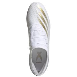 Buty piłkarskie adidas X GHOSTED.3 Fg M EG8193 białe białe 1