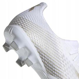 Buty piłkarskie adidas X GHOSTED.3 Fg M EG8193 białe białe 4
