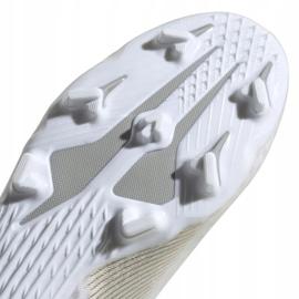 Buty piłkarskie adidas X GHOSTED.3 Fg M EG8193 białe białe 5