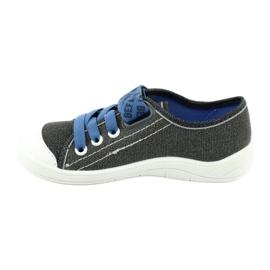Befado obuwie dziecięce 251X129 niebieskie szare 2