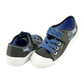 Befado obuwie dziecięce 251X129 niebieskie szare 4
