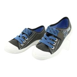Befado obuwie dziecięce 251X129 niebieskie szare 3
