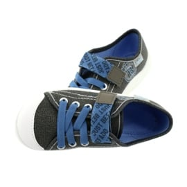 Befado obuwie dziecięce 251X129 niebieskie szare 5