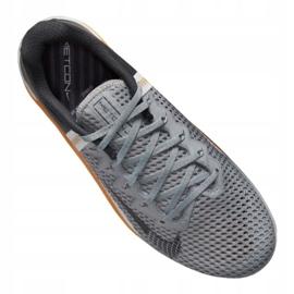 Buty treningowe Nike Metcon 6 M CK9388-009 białe czarne szare 3