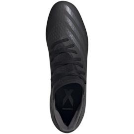 Buty piłkarskie adidas X GHOSTED.3 Fg M EH2833 czarne czarne 1