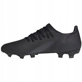 Buty piłkarskie adidas X GHOSTED.3 Fg M EH2833 czarne czarne 2