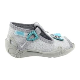 Befado obuwie dziecięce 213P121 szare 1