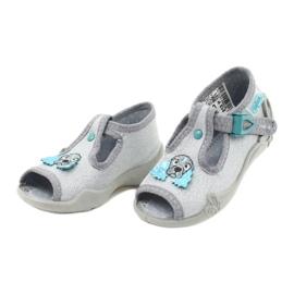 Befado obuwie dziecięce 213P121 szare 3