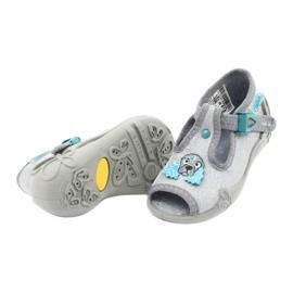 Befado obuwie dziecięce 213P121 szare 4