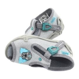 Befado obuwie dziecięce 213P121 szare 5