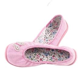 Befado obuwie dziecięce  980X098 różowe 4
